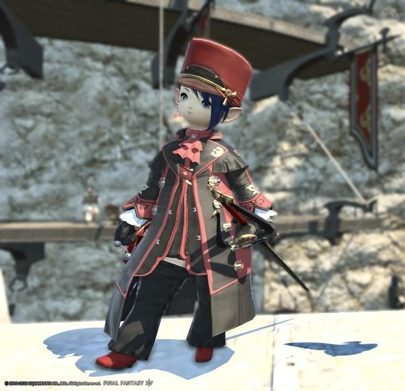 黒渦の赤魔道士