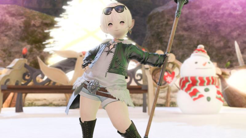 軽装竜騎士♪