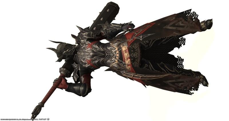金棒と暗黒騎士