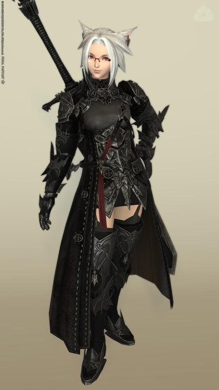 【暗黒騎士】5.4新式胴とAF3手足を使いたかったコーデ