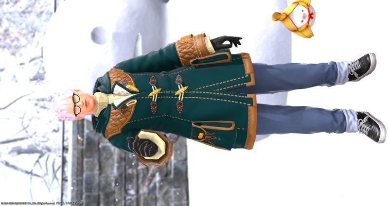 真冬服のお兄さん