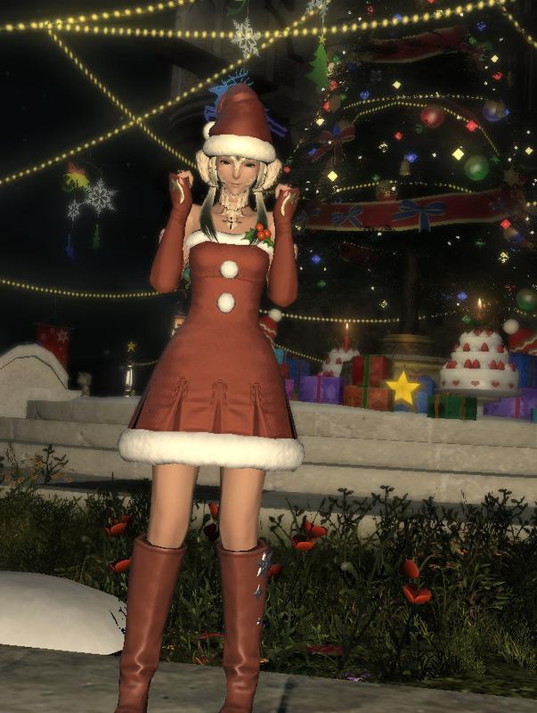 サンタ衣装