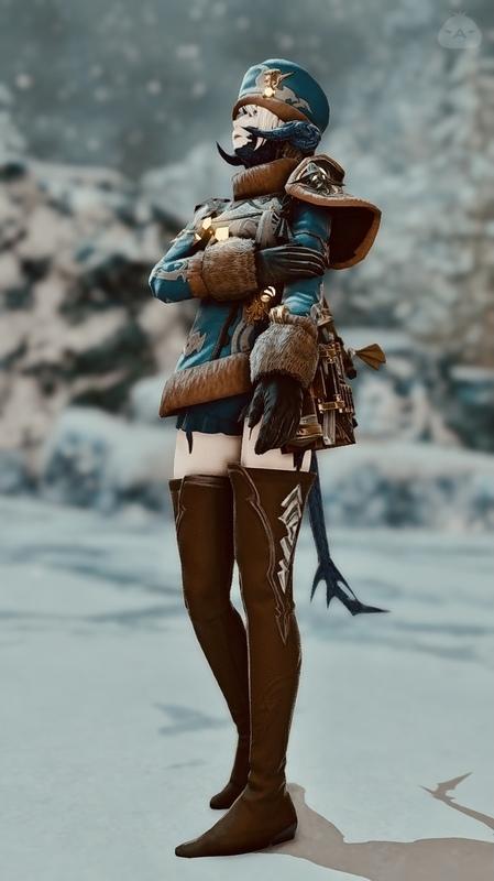 北国の軍服っぽいような…