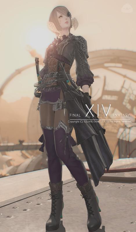 黒+紫の忍者