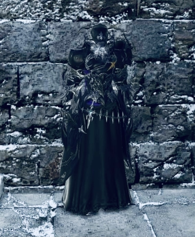逃亡中の暗黒騎士