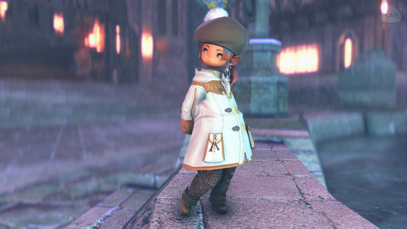 冬服-ブラウン×ホワイト-