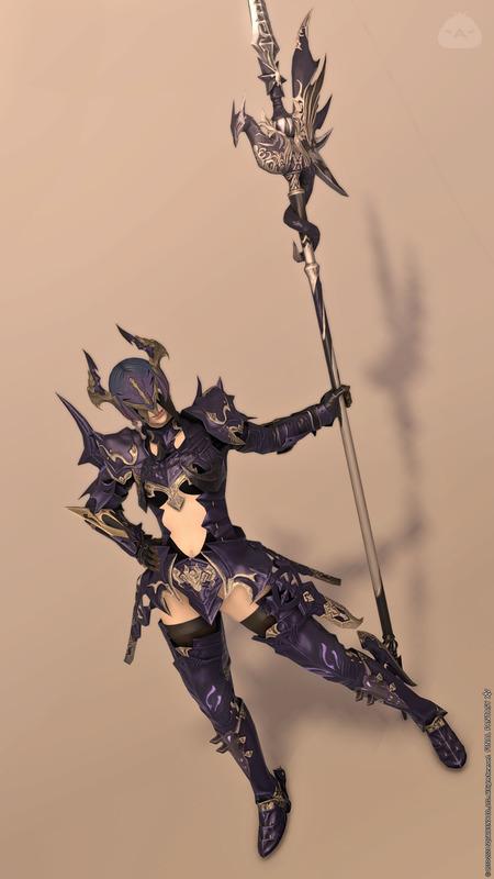 竜騎士らしく?鎧コーデ