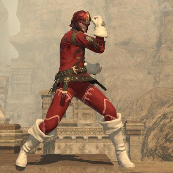 戦隊の赤いやつ