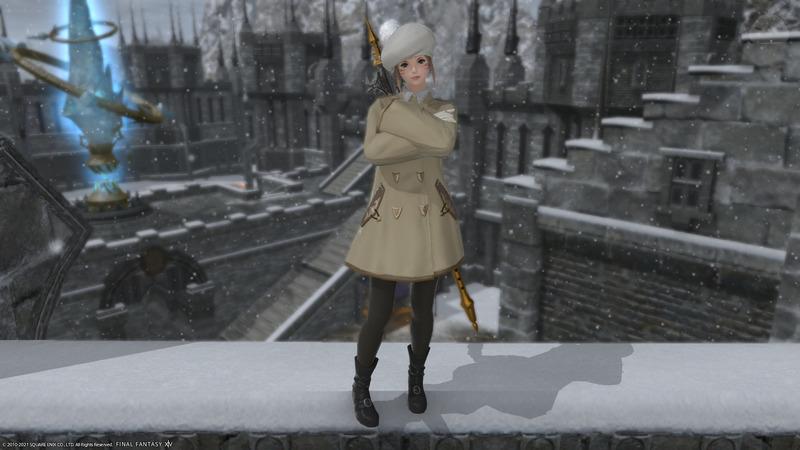 冬の装い(白魔)