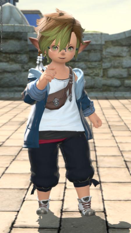 袖捲り風 カジュアルジャケット
