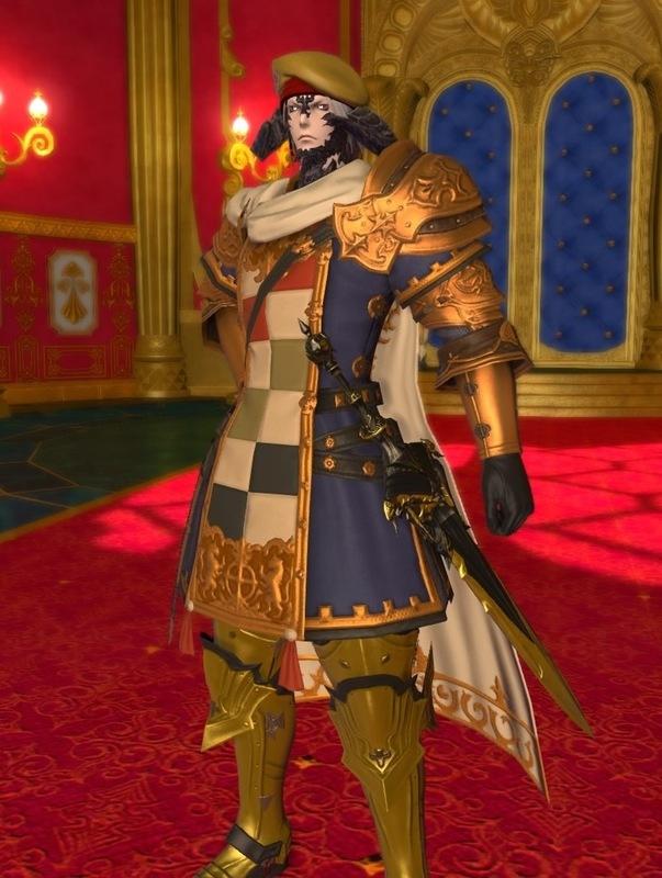 宮廷に仕える近衛騎士