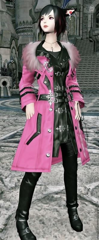 ピンクのクールコーデ!(≧∇≦)