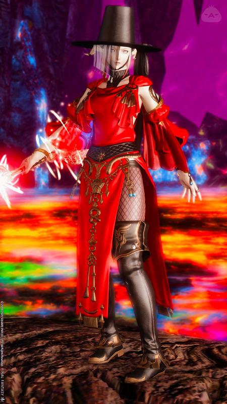 エキゾチックな赤魔道士