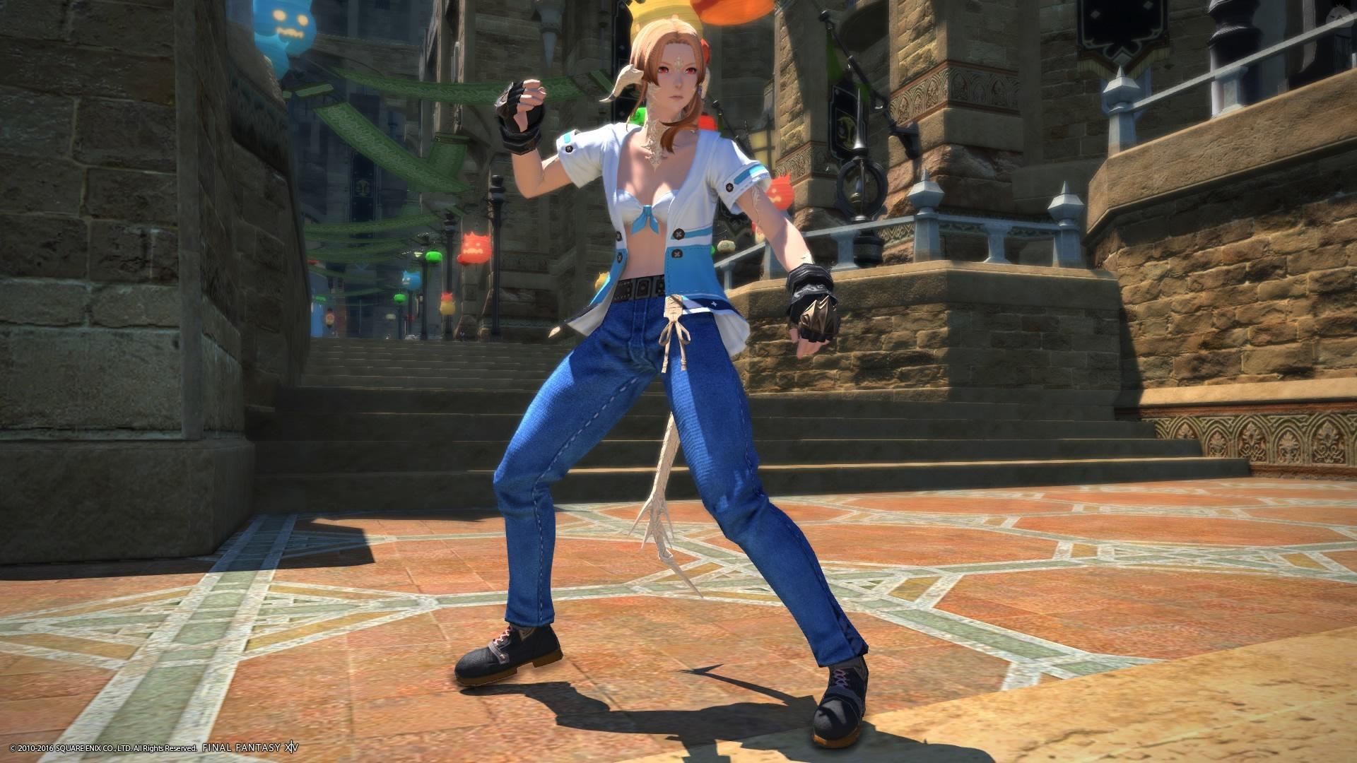 格ゲーにいそうな女性格闘家のミラプリ