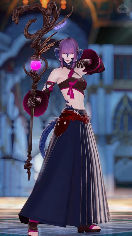 黒魔導士(紫水)
