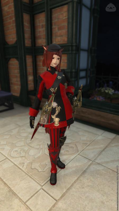 赤黒シンメトリー