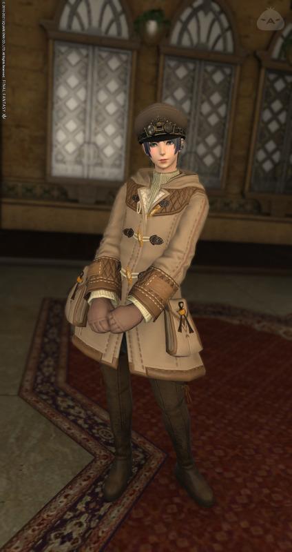 秋色の冬服