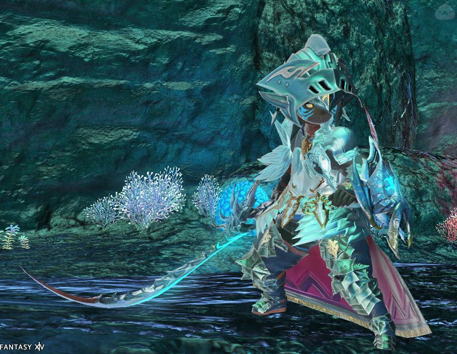 半魚の騎士