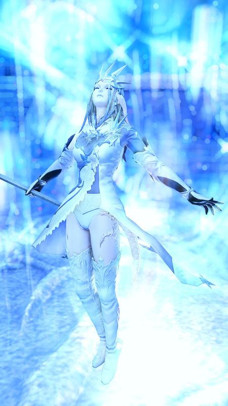 Ice White Mage