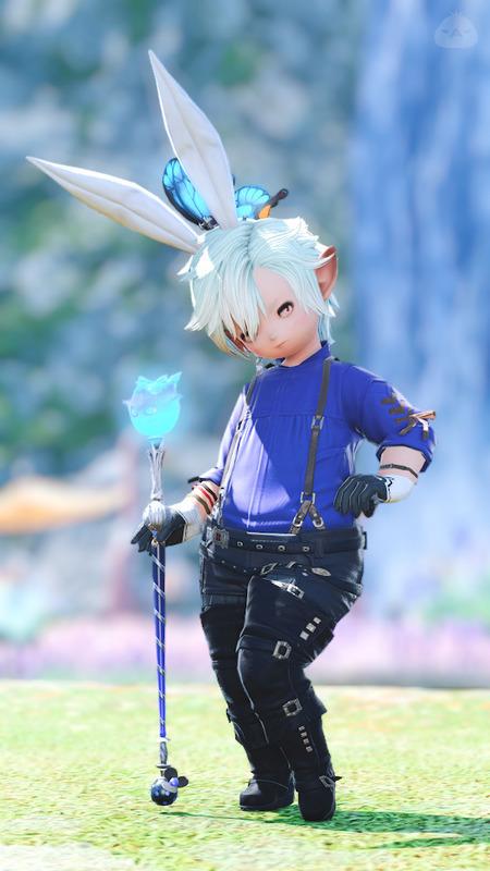 Blue Magician's Assistant