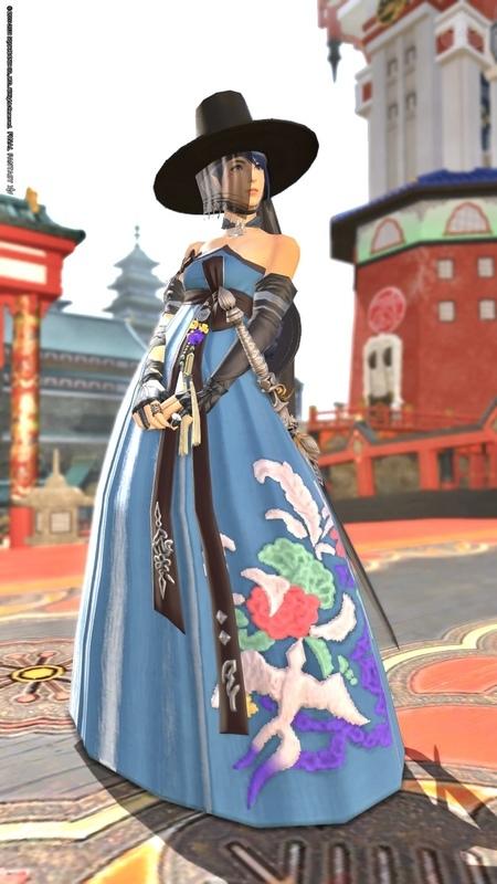 【今週のナイト】東方のお嬢さん・青
