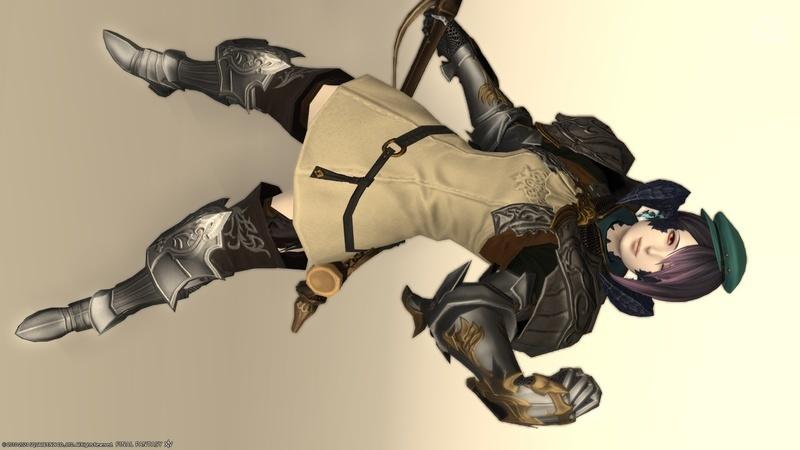 適度なゴツさの鎧コーデ