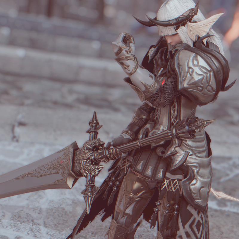 灰色の暗黒騎士
