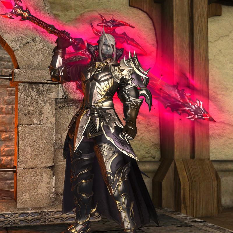 銀の暗黒騎士
