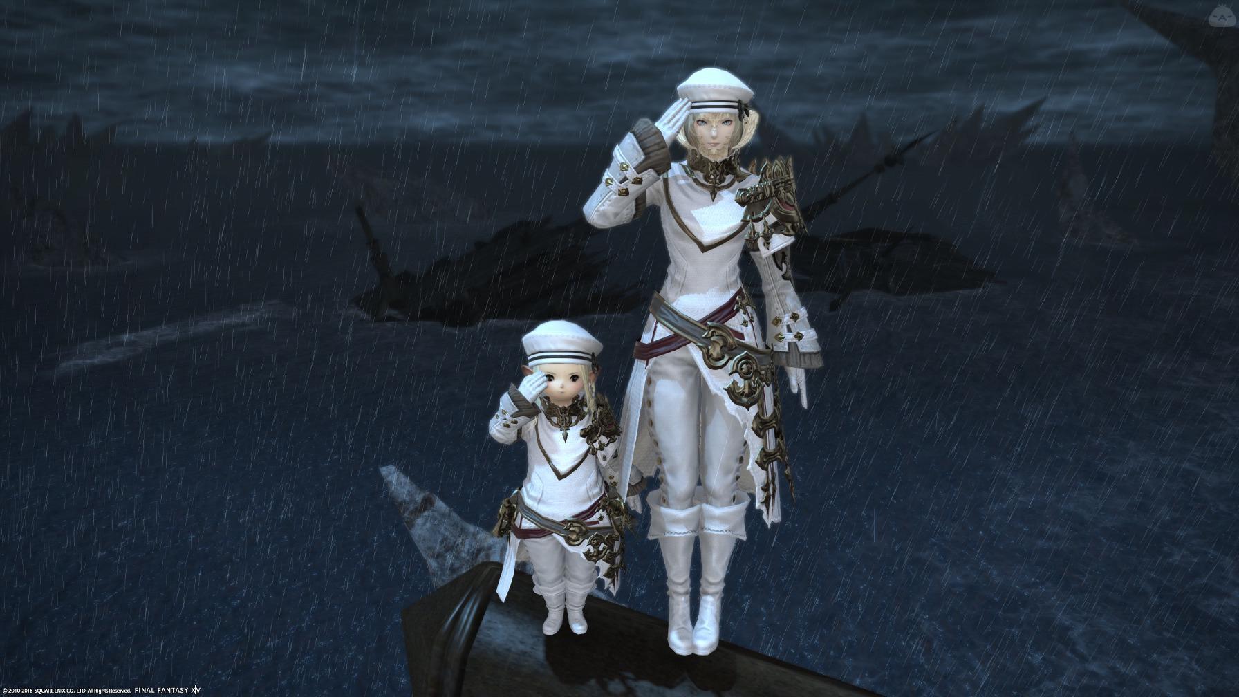 海賊船を沈めた海兵二人