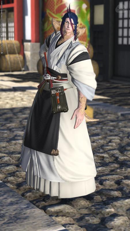 紺屋の白袴