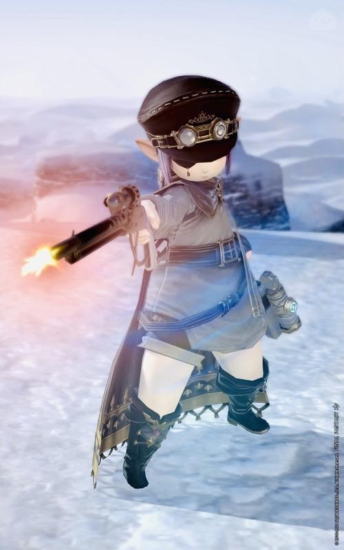 アンドロイド旧式軍装:射