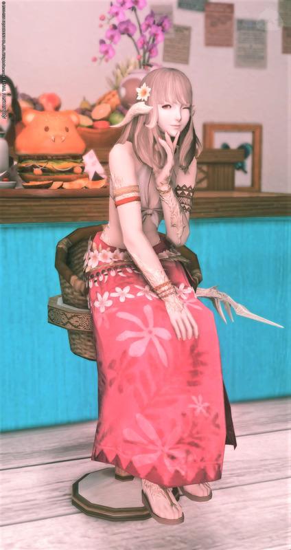 プルメリアの髪飾り