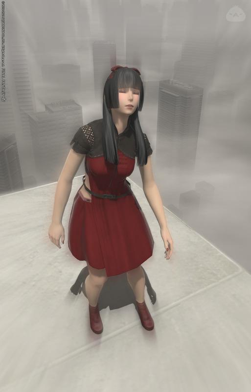 希望ノ砲台「塔」の赤い少女