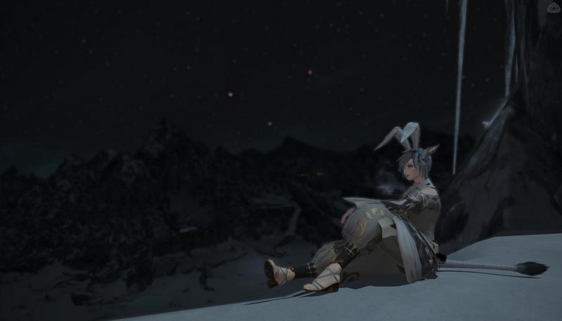 月見はまだかー
