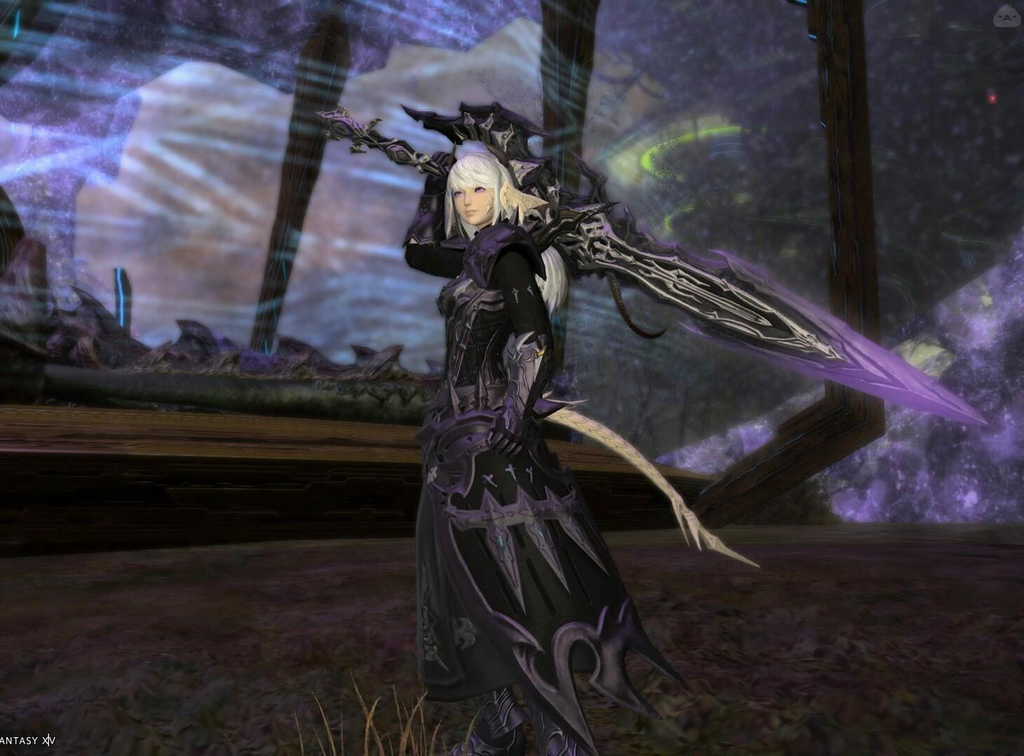 闇の女騎士