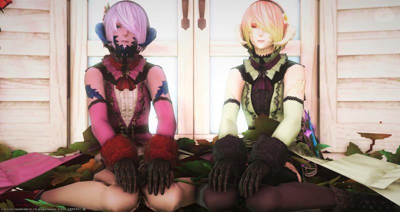葡萄な双子