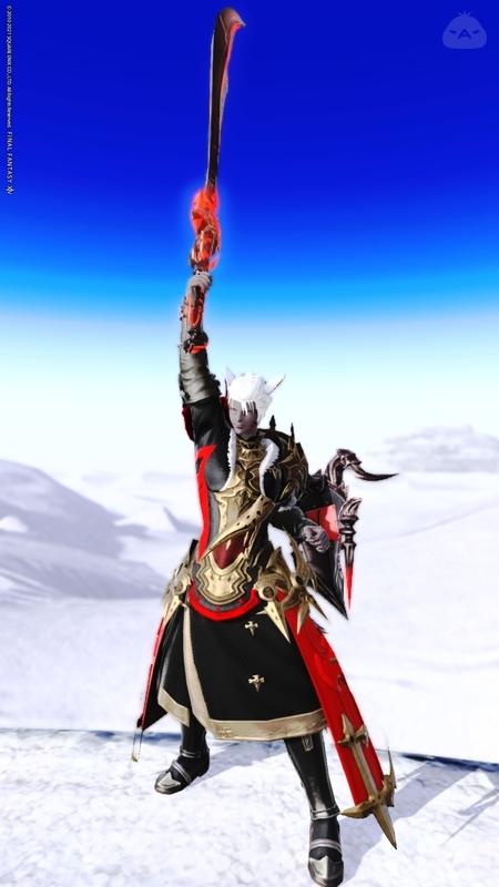 朱に沈む騎士
