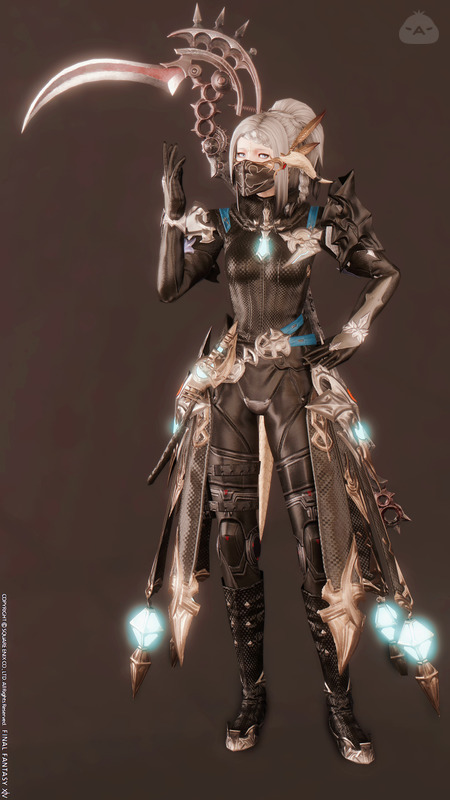 Cyber Punk Grim Reaper