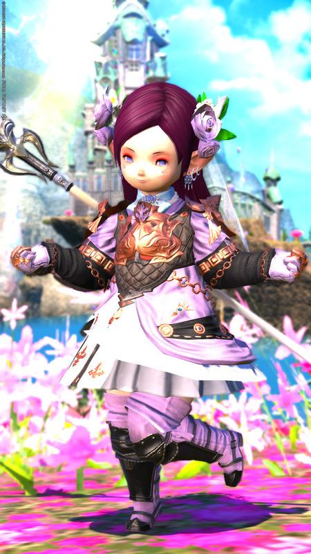 【男女兼用】花舞の姫騎士