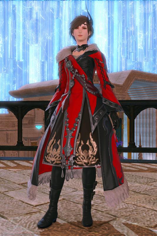 紅蓮の上級魔術士