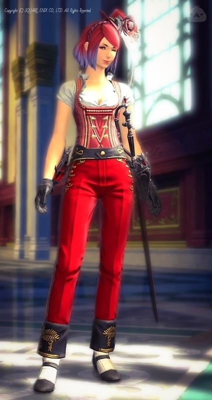 赤魔道士のミラプリ