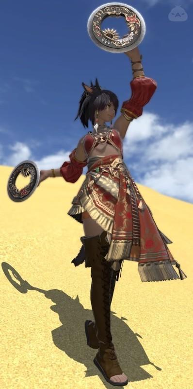 砂漠の踊り子