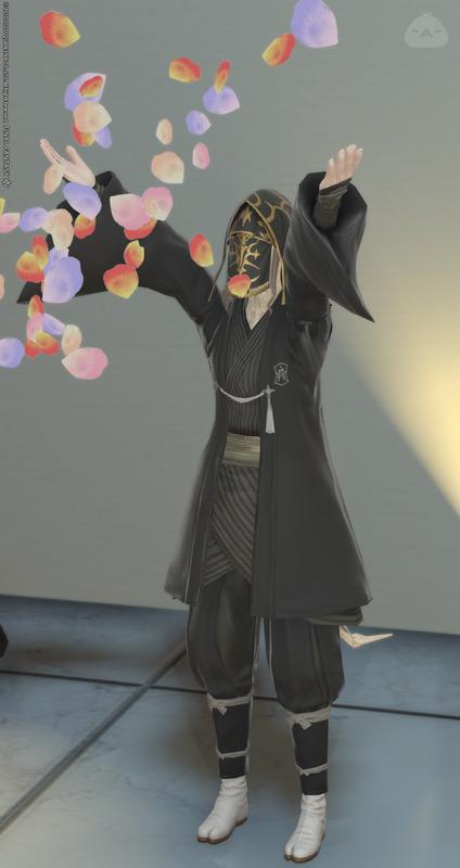 黒子(ヒーラー仕様)