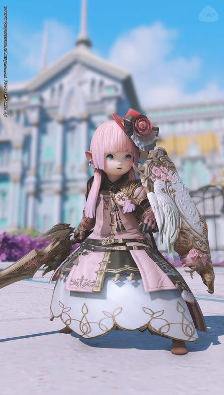 ピンクの騎士