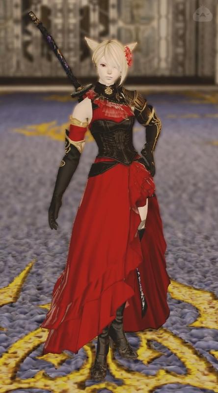 深紅の騎士