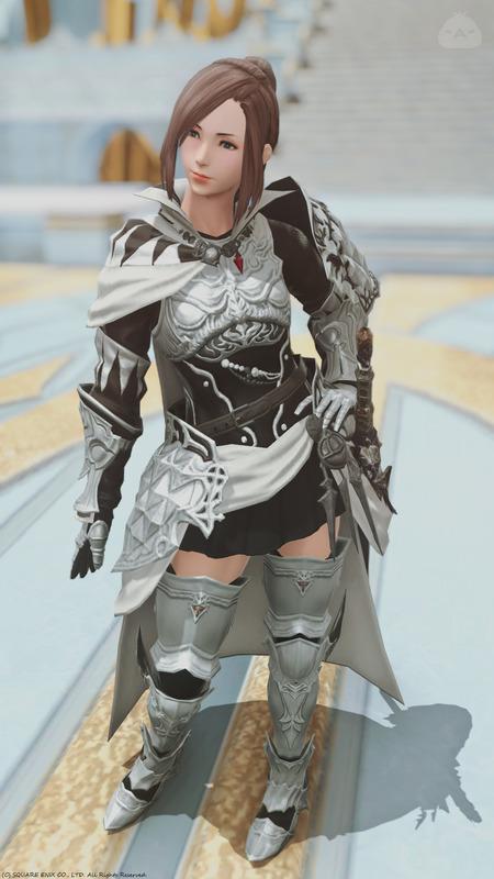 白銀の女騎士