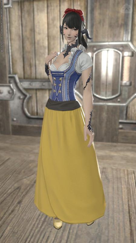 白雪姫コスアウラちゃん