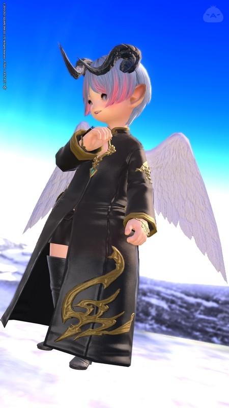 堕天使ちゃん。