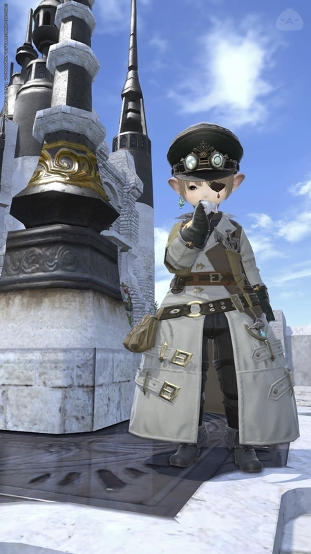 ララフェル軍大佐っぽく