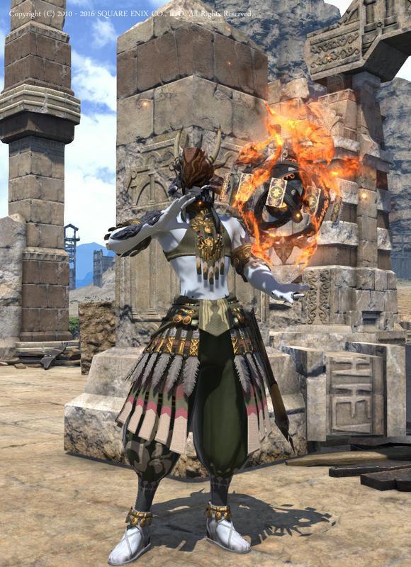 炎の呪術師